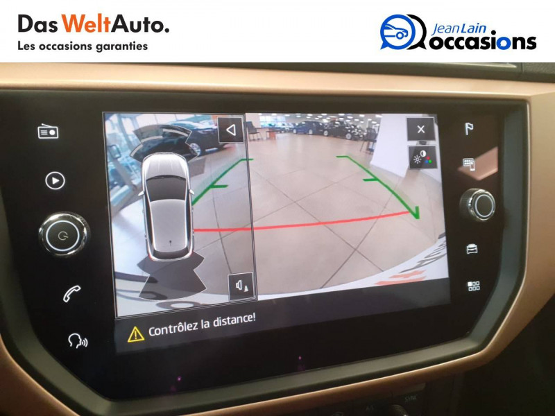 Seat Ibiza Ibiza 1.6 TDI 95 ch S/S BVM5 Xcellence 5p Bleu occasion à Voiron - photo n°15
