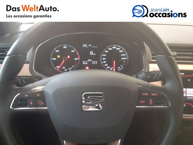 Seat Ibiza Ibiza 1.6 TDI 95 ch S/S BVM5 Xcellence 5p Bleu occasion à Voiron - photo n°12