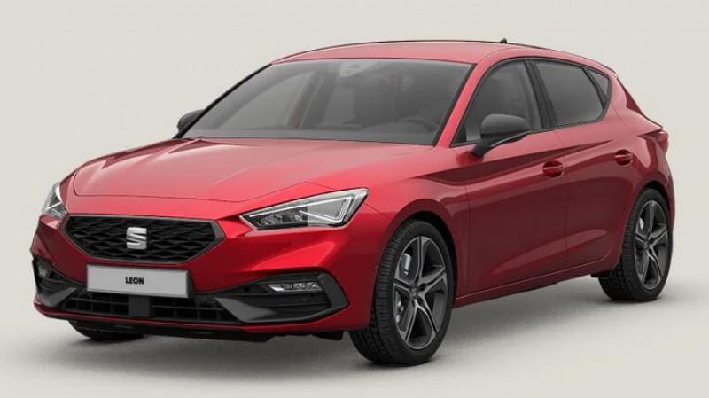 Seat Leon ST 1.5 tsi 150cv bvm6 fr + pack drive assist l + pack hiver Rouge occasion à Ganges