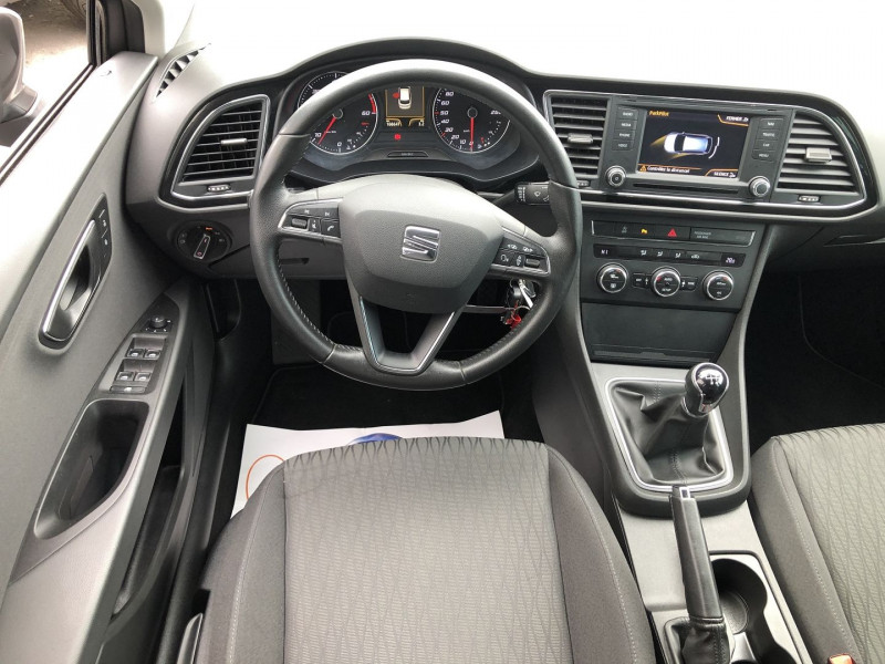 Seat Leon ST 1.6 TDI 105CH FAP STYLE BUSINESS START&STOP Gris occasion à TOULOUSE - photo n°5