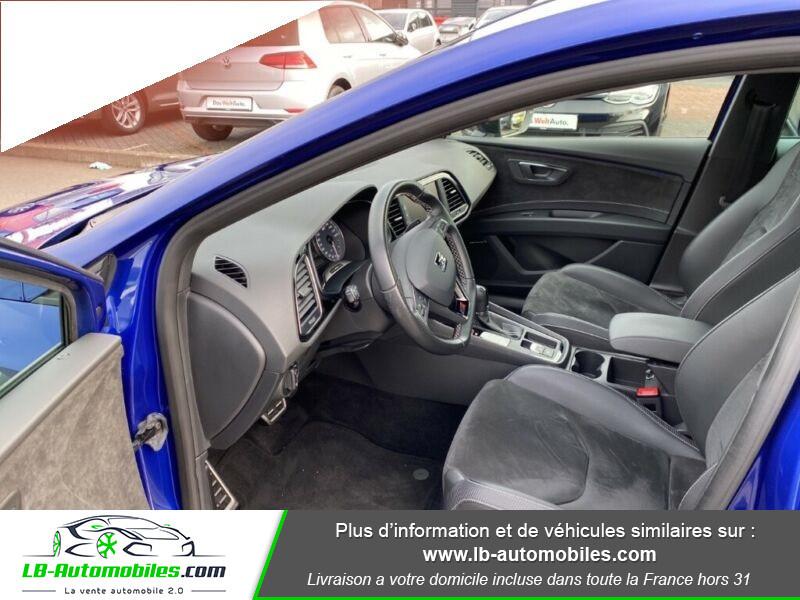 Seat Leon ST 2.0 TSI 300 / Cupra Bleu occasion à Beaupuy - photo n°2