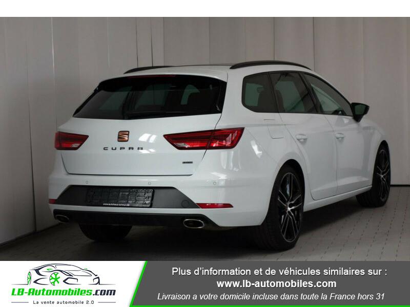 Seat Leon ST 2.0 TSI 300 / Cupra Blanc occasion à Beaupuy - photo n°6