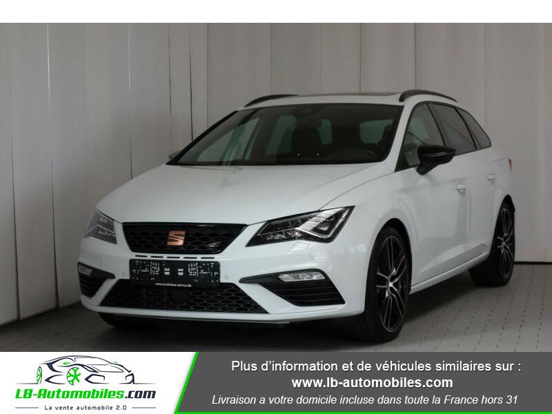 Seat Leon ST 2.0 TSI 300 / Cupra Blanc occasion à Beaupuy - photo n°3