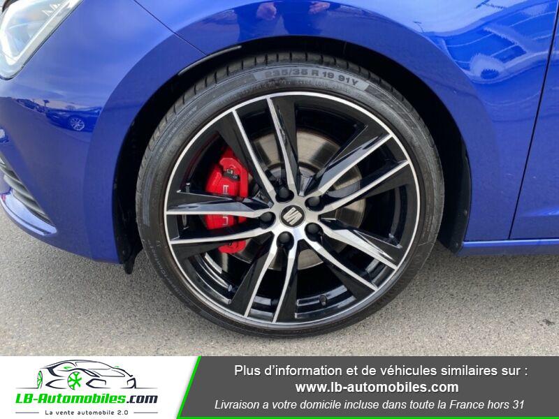 Seat Leon ST 2.0 TSI 300 / Cupra Bleu occasion à Beaupuy - photo n°5