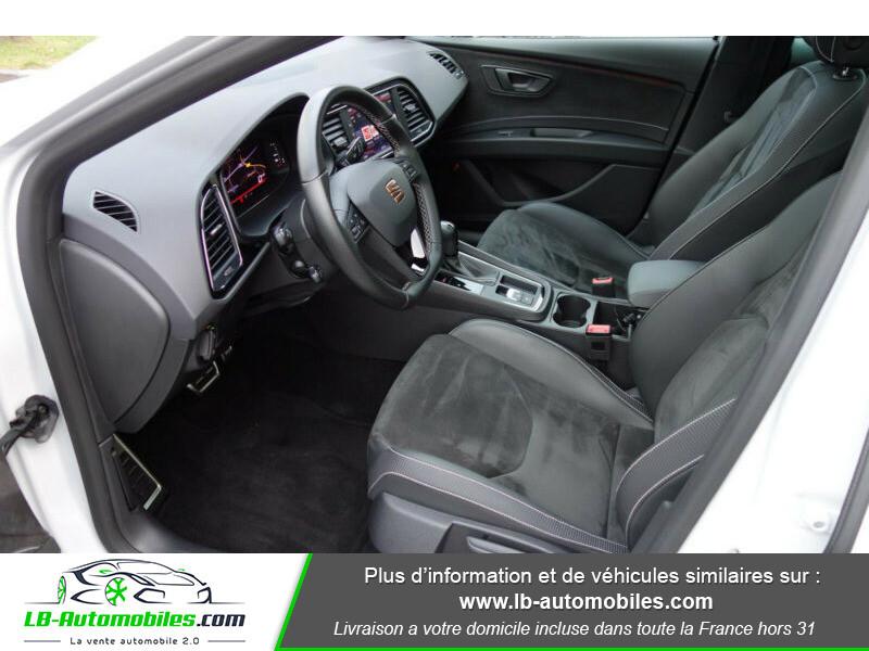Seat Leon ST 2.0 TSI 300 / Cupra Blanc occasion à Beaupuy - photo n°8