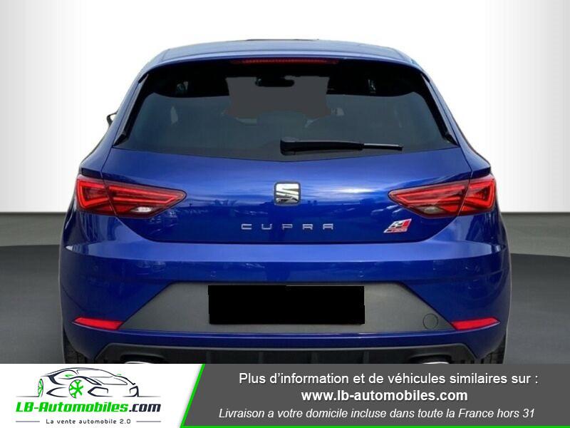 Seat Leon ST 2.0 TSI 300 / Cupra Bleu occasion à Beaupuy - photo n°4