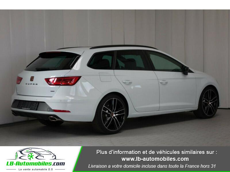 Seat Leon ST 2.0 TSI 300 / Cupra Blanc occasion à Beaupuy - photo n°7