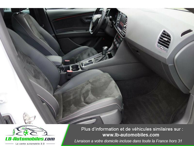 Seat Leon ST 2.0 TSI 300 / Cupra Blanc occasion à Beaupuy - photo n°12