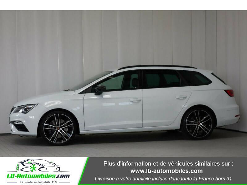 Seat Leon ST 2.0 TSI 300 / Cupra Blanc occasion à Beaupuy - photo n°5