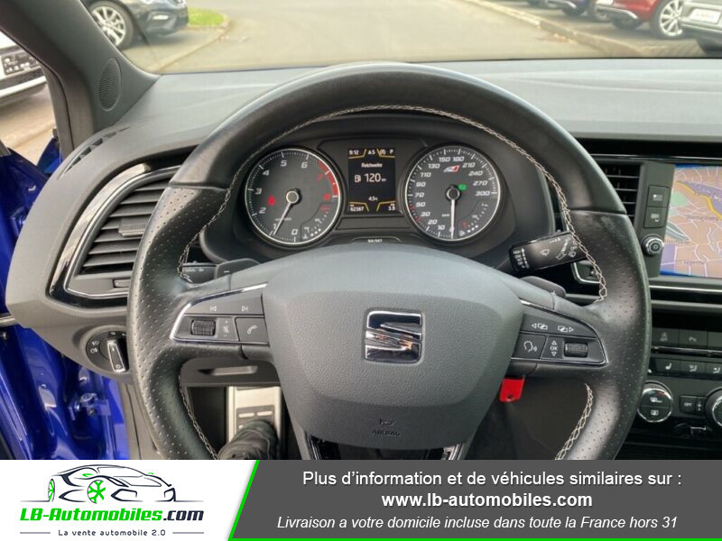 Seat Leon ST 2.0 TSI 300 / Cupra Bleu occasion à Beaupuy - photo n°7