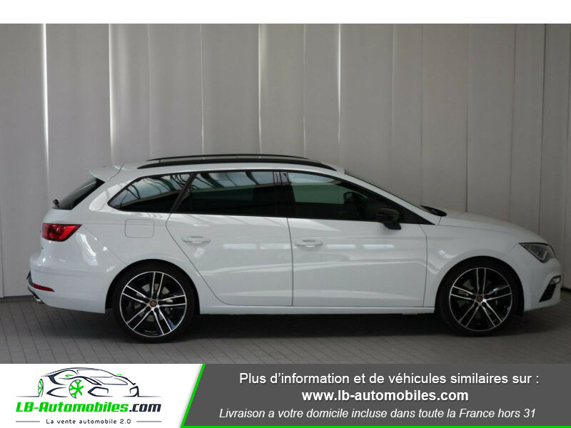 Seat Leon ST 2.0 TSI 300 / Cupra Blanc occasion à Beaupuy - photo n°4