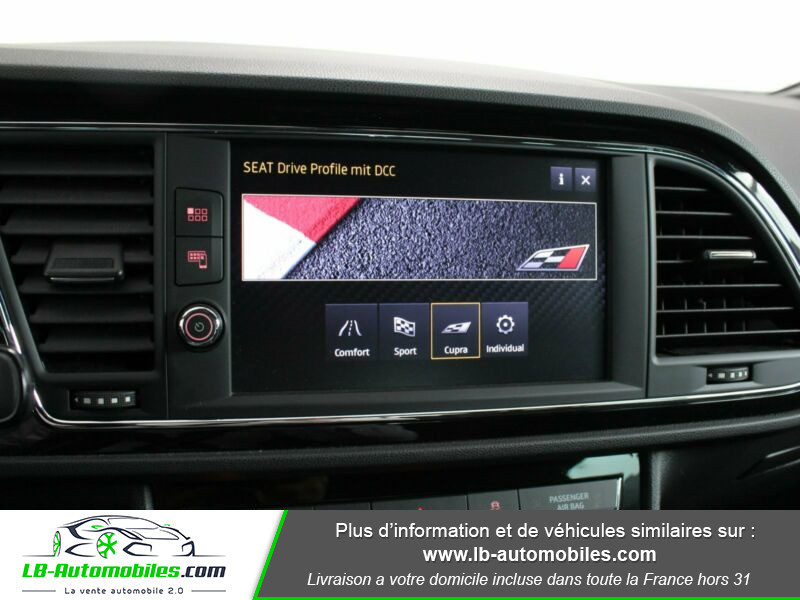 Seat Leon ST 2.0 TSI 300 / Cupra Noir occasion à Beaupuy - photo n°5