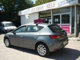 Seat Leon 1.2 TSI 105CH STYLE START&STOP Gris occasion à Toulouse - photo n°4