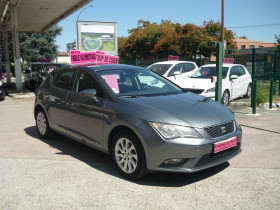 Seat Leon 1.2 TSI 105CH STYLE START&STOP Gris occasion à Toulouse - photo n°2