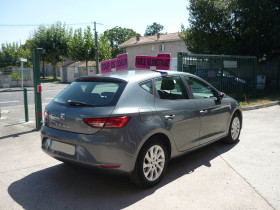 Seat Leon 1.2 TSI 105CH STYLE START&STOP Gris occasion à Toulouse - photo n°3