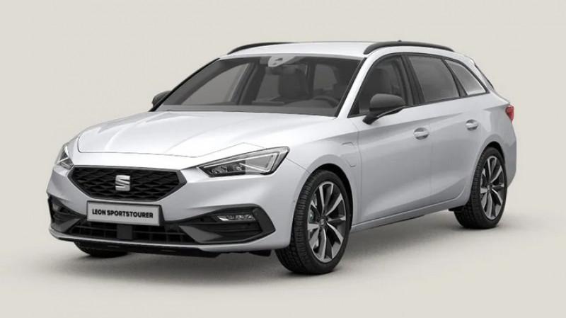 Seat Leon 1.4 e-hybrid 204cv dsg6 fr + pack drive assist l + pack hive Blanc occasion à Ganges