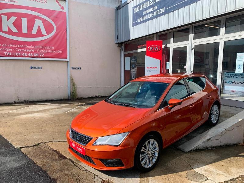 Seat Leon 1.4 TSI 125 S&S XCELLENCE Orange occasion à Noisy-le-Sec