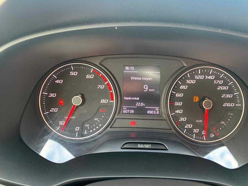 Seat Leon 1.4 TSI 125 S&S XCELLENCE Orange occasion à Noisy-le-Sec - photo n°11