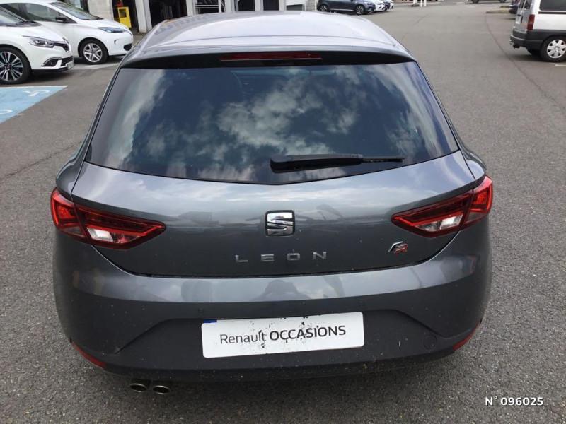Seat Leon 1.4 TSI 150ch ACT FR Start&Stop Gris occasion à Compiègne - photo n°3