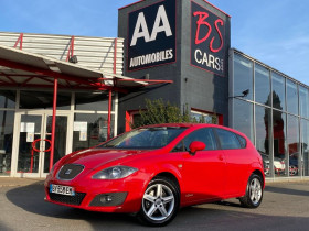 Seat Leon 1.4 TSI Stylance Rouge occasion à Castelmaurou - photo n°1