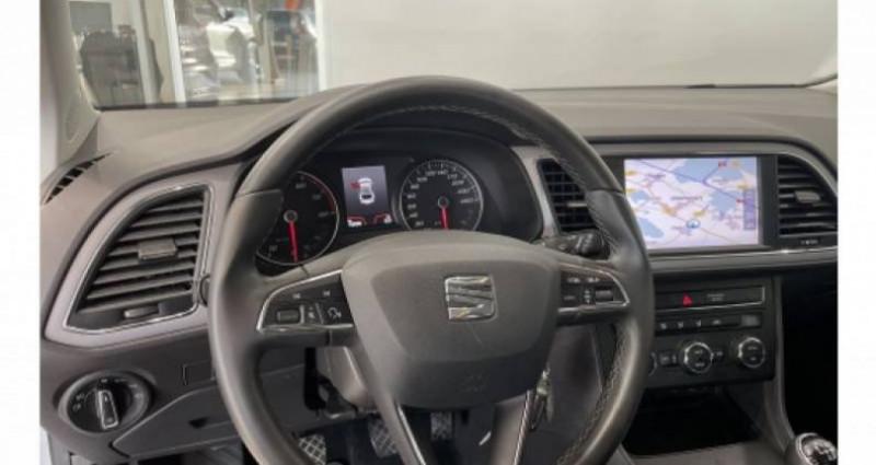 Seat Leon 1.6 TDI 115 Start/Stop BVM5 Style Gris occasion à LADOIX-SERRIGNY - photo n°5