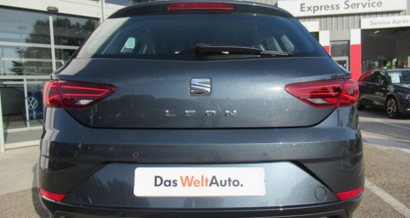 Seat Leon 1.6 TDI 115 Start/Stop BVM5 Style Gris occasion à Bourgogne - photo n°6