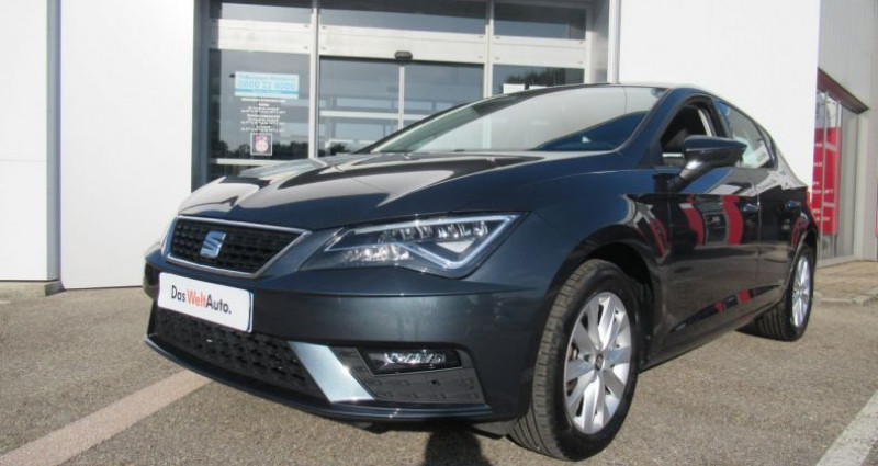 Seat Leon 1.6 TDI 115 Start/Stop BVM5 Style Gris occasion à Bourgogne