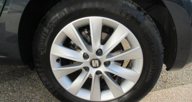 Seat Leon 1.6 TDI 115 Start/Stop BVM5 Style Gris occasion à Bourgogne - photo n°7