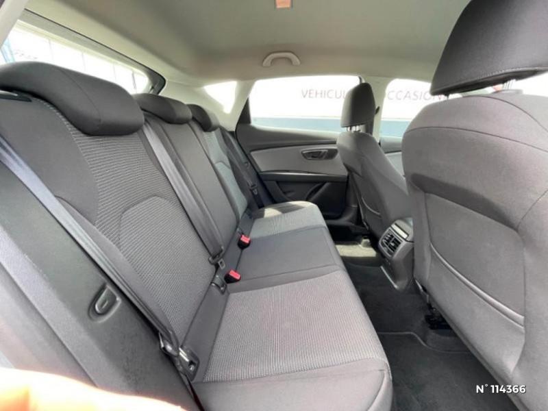 Seat Leon 1.6 TDI 115ch FAP Style Gris occasion à Mareuil-lès-Meaux - photo n°10