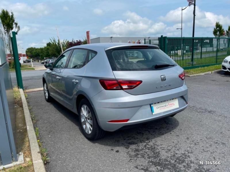 Seat Leon 1.6 TDI 115ch FAP Style Gris occasion à Mareuil-lès-Meaux - photo n°7