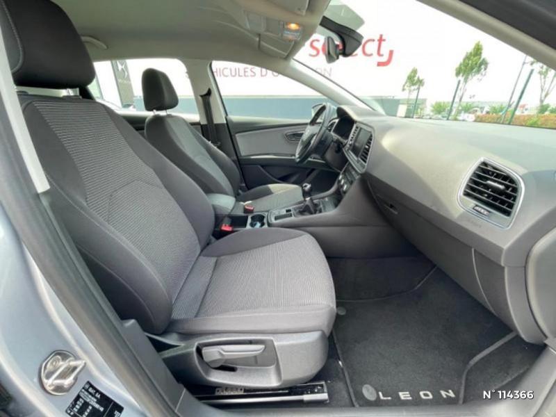 Seat Leon 1.6 TDI 115ch FAP Style Gris occasion à Mareuil-lès-Meaux - photo n°11