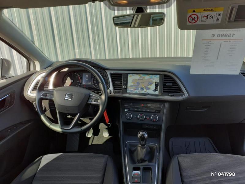 Seat Leon 1.6 TDI 115ch Style Euro6d-T Gris occasion à Beauvais - photo n°10