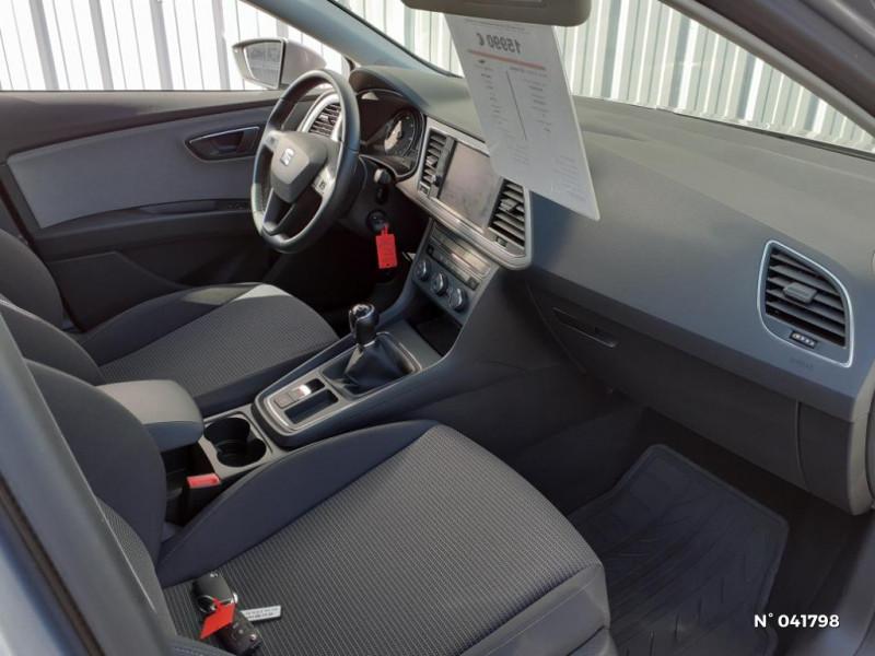 Seat Leon 1.6 TDI 115ch Style Euro6d-T Gris occasion à Beauvais - photo n°4