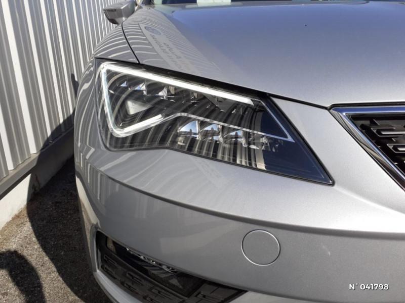 Seat Leon 1.6 TDI 115ch Style Euro6d-T Gris occasion à Beauvais - photo n°7