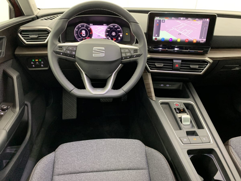 Seat Leon 2.0 TDI 150 DSG7 XCELLENCE Rouge occasion à SAINT-GREGOIRE - photo n°11