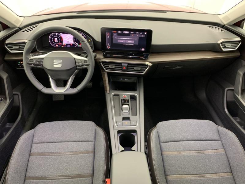 Seat Leon 2.0 TDI 150 DSG7 XCELLENCE Rouge occasion à SAINT-GREGOIRE - photo n°10