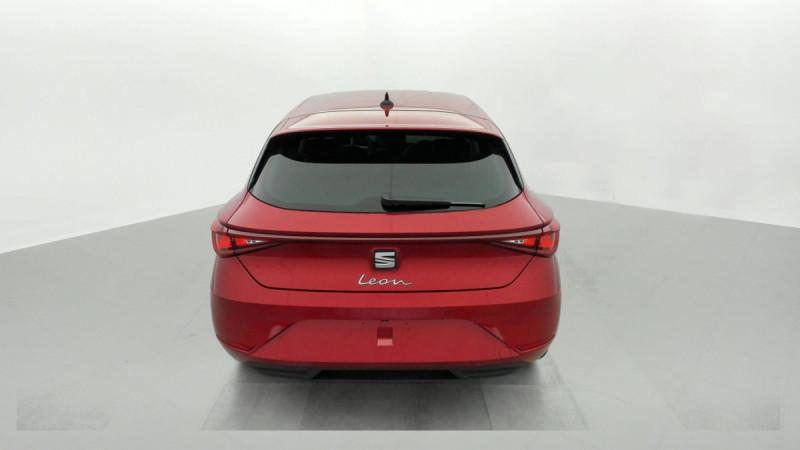 Seat Leon 2.0 TDI 150 DSG7 XCELLENCE Rouge occasion à SAINT-GREGOIRE - photo n°5