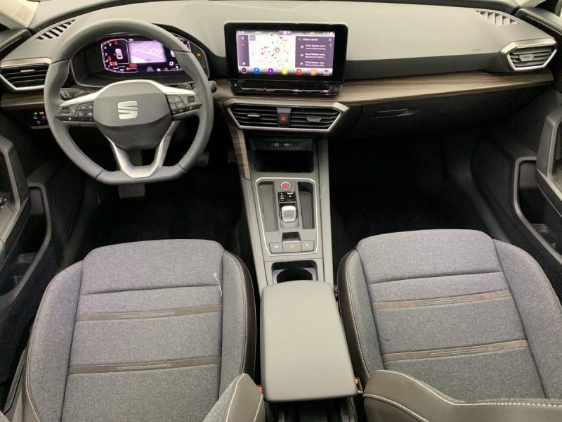 Seat Leon 2.0 TDI 150 DSG7 XCELLENCE Gris occasion à SAINT-GREGOIRE - photo n°10