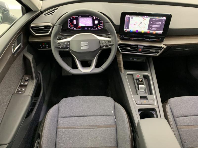 Seat Leon 2.0 TDI 150 DSG7 XCELLENCE Gris occasion à SAINT-GREGOIRE - photo n°11