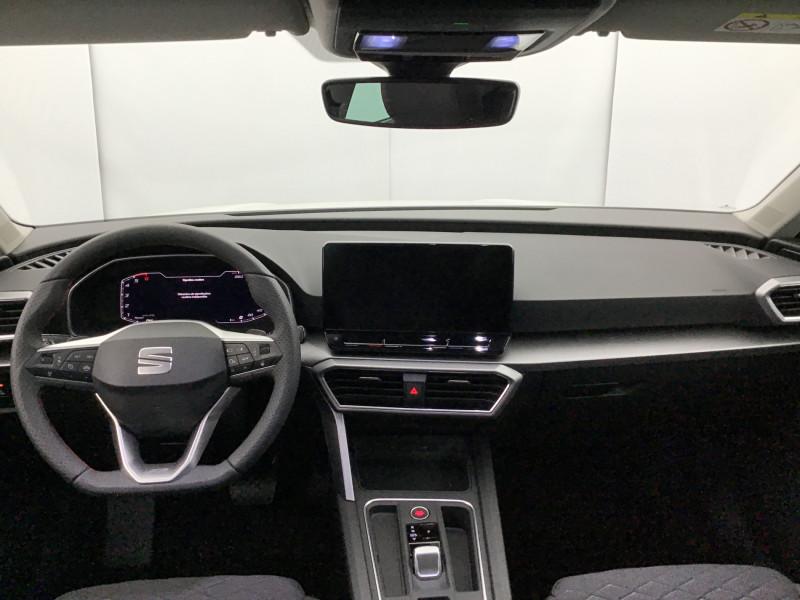 Seat Leon 2.0 TDI 150ch DSG7 FR Pack M Blanc occasion à SAINT-GREGOIRE - photo n°15