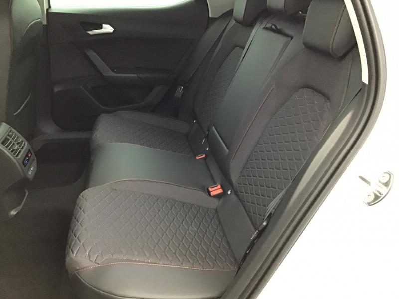 Seat Leon 2.0 TDI 150ch DSG7 FR Pack M Blanc occasion à SAINT-GREGOIRE - photo n°16