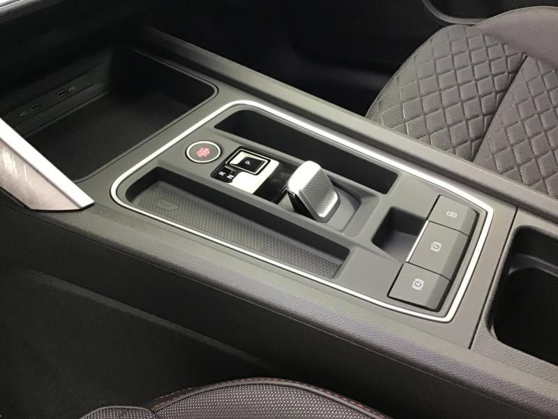 Seat Leon 2.0 TDI 150ch DSG7 FR Pack M Blanc occasion à SAINT-GREGOIRE - photo n°13
