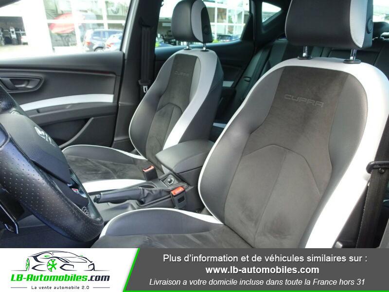 Seat Leon 2.0 TSI 290 / Cupra Blanc occasion à Beaupuy - photo n°10
