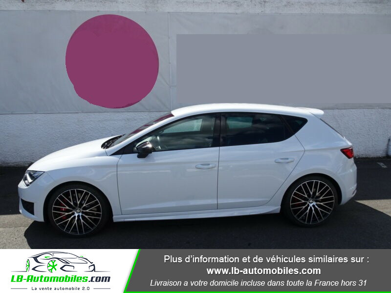 Seat Leon 2.0 TSI 290 / Cupra Blanc occasion à Beaupuy - photo n°3