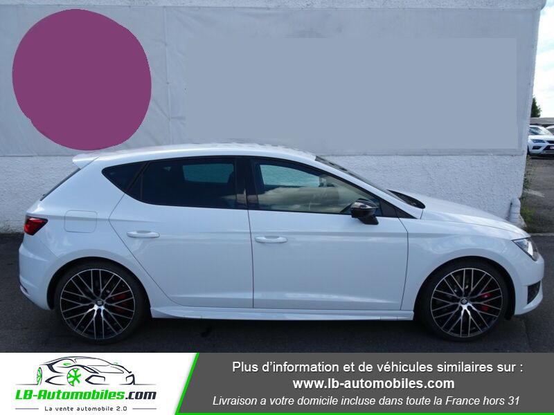 Seat Leon 2.0 TSI 290 / Cupra Blanc occasion à Beaupuy - photo n°4