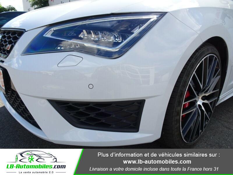 Seat Leon 2.0 TSI 290 / Cupra Blanc occasion à Beaupuy - photo n°6