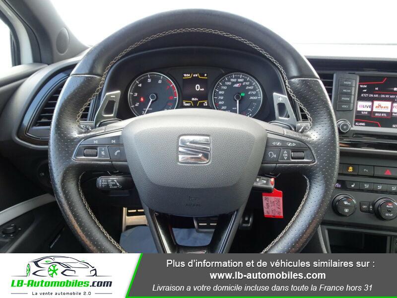 Seat Leon 2.0 TSI 290 / Cupra Blanc occasion à Beaupuy - photo n°13