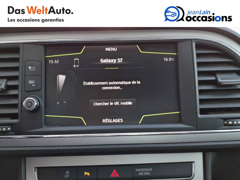 Seat Leon Leon 1.4 TSI 125 Start/Stop TYPE EXCELLENCE 5p  occasion à Valence - photo n°15