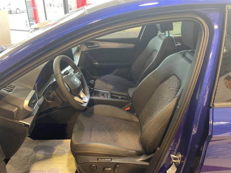 Seat Leon Leon 1.5 TSI 150 BVM6 FR 5p Bleu occasion à Tarbes - photo n°7