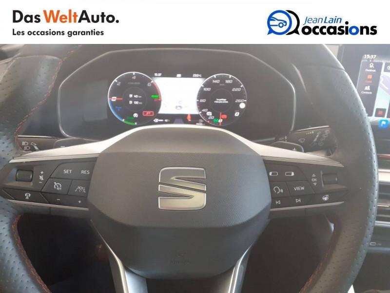 Seat Leon Leon e-Hybrid 204 ch DSG6 FR 5p Gris occasion à Voiron - photo n°12